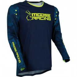 Moose Racing Agroid Blue-hiviz crossmez