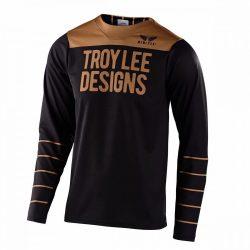 Troy lee designs GP PINSTRIPE MEZ,FEKETE-ARANY