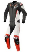 Alpinestars bőrruha 2-TEILER ATEM V3 fekete-fehér-piros