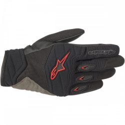 Alpinestars Shore kesztyű, black-red