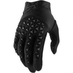 100% AIRMATIC SHORT GLOVES BLACK/CHARCOAL