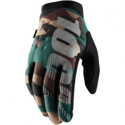 100% BRISKER COLD WEATHER GLOVES CAMO/BLACK XL MÉRET