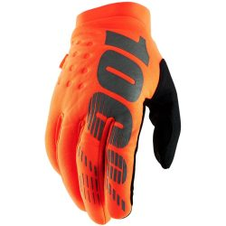 100% BRISKER COLD WEATHER GLOVES FLO ORANGE/BLACK 2XL MÉRET