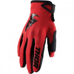 2021 THOR SECTOR GLOVE  RED