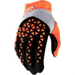 100% AIRMATIC GLOVES OR/BK
