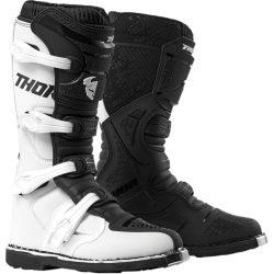 Thor 2019 BLITZ XP OFFROAD BOOTS WHITE/BLACK, 7=40.5