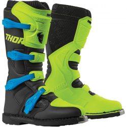 Thor 2019 BLITZ XP OFFROAD BOOTS FLO ACID/BLACK, 12=47