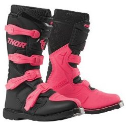 Thor 2019 WOMENS BLITZ XP OFFROAD BOOTS BLACK/PINK