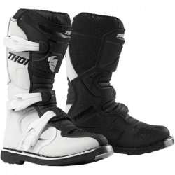 Thor 2019 YOUTH BLITZ XP OFFROAD BOOTS WHITE/BLACK