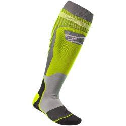 Alpinestars MX plus 1  zokni, sarga-szurke színben