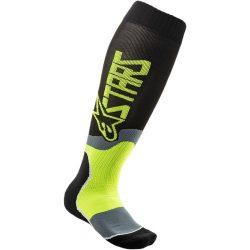 Alpinestars MX Plus 2  zokni, fekete-sarga színben