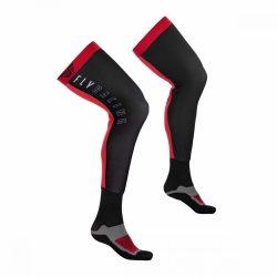 Fly Racing TÉRDGÉP zokni, red -black