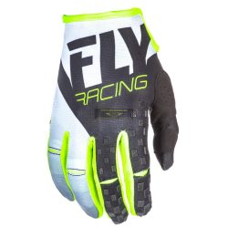 Fly Racing 2018 Kinetic crosskesztyű, BLK-WHT-HVZ