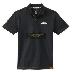 KTM Racing póló, Fekete