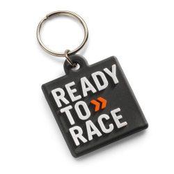 KTM 2017 Logo gumi kulcstartó, Fekete