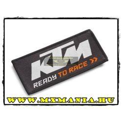 KTM 2017 felvarró, fekete színben