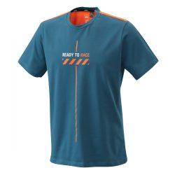 KTM pure style poló kék-narancs