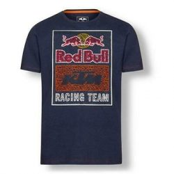 KTM Red Bull Racing graphic navy póló