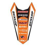 KTM hátsó sárvédő matrica, Factory Effex több féle motorhoz KTM