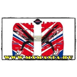 Blackbird Racing Team HRC hűttő matrica