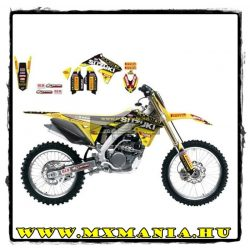 Blackbird Racing Team Rockstar Energy Suzuki World MXGP matrica szett