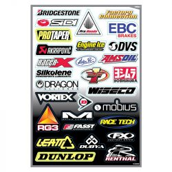 Factory Effex Sponsor  matrica szett