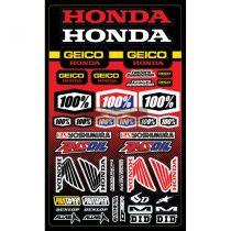 Geico Honda táblás matrica szett