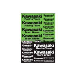 Factory Effex Kawasaki Racing matrica szett