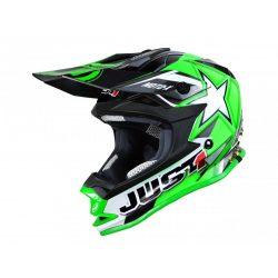 JUST1 J32 Sisak Moto X Zöld,  XL
