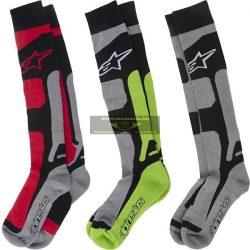 Alpinestars 2016 Tech Coolmax zokni, szürke-fekete