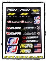 4MX Racing matrica, Maxima, Ama, Pro Taper