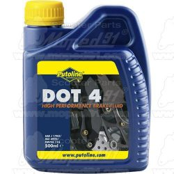 Putoline DOT 4.0 FÉK FOLYADÉK 500ML