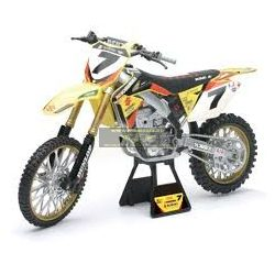 Suzuki RM-Z450 James Stewart 1:12 makett, NewRay