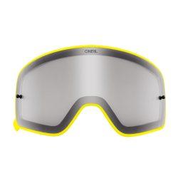 O'neal B50 szemüveg lencse, sötétített, sárga kerettel