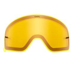 O'neal B50 szemüveg lencse, sárga víztiszta, sárga kerettel