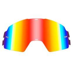 O'neal B20 szemüveg lencse, piros tükrös