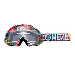 O'Neal B10 CRANK MULTI - CLEAR lencsével