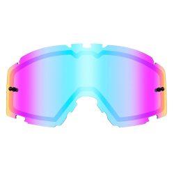 O'neal B30 tükrös szemüveg lencse, radium blue