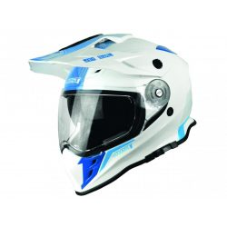 JUST1 J34 Adventure Helmet Shape Gloss Neon Blue