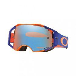 Oakley Airbrake Prizm fluo narancs-kék  cross szemüveg tükrös lencse
