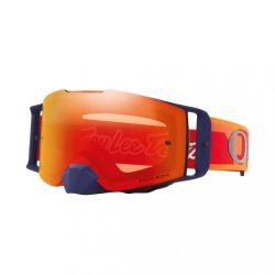 OAKLEY FRONT LINE MX TLD Confetti cross szemüveg, narancs iridium