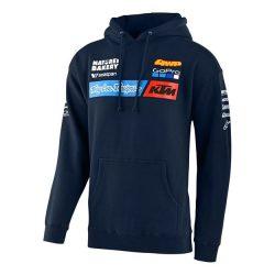 KTM Troy Lee Design Factory Team kapucnis pulóver, M méret