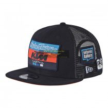 KTM 2018 Troy Lee Design Factory Team Trucker snapback sapka, kék