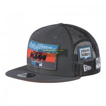 KTM 2018 Troy Lee Design Factory Team Trucker snapback sapka, szürke