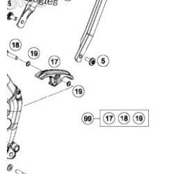 KTM SX65 láncvezető nyelv, GYÁRI