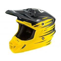 ANSWER AR1 Pro Glow világos sárga/kék/fehér bukósisak