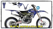 Balckbird Dream Graphics Yamaha motorokhoz
