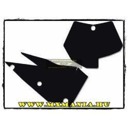Blackbird rajtszámtábla speciális fólia, Kawasaki motorokhoz
