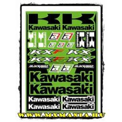 Blackbird matricaszett, Kawasaki, KTM, Suzuki,Yamaha motorokhoz