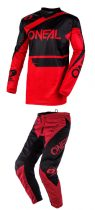 O'NEAL ELEMENT RACEWEAR RED RUHASZETT